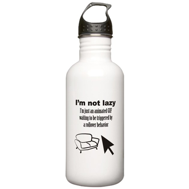 Animated Gif Water Bottle By Big Fat Geek
