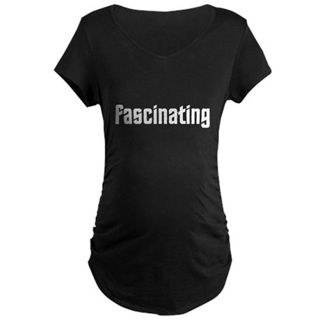 Fascinating Maternity Dark T-Shirt