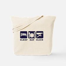 Sleep Eat Hang Glide Tote Bag