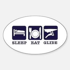 Sleep Eat Hang Glide Decal