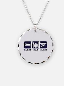 Sleep Eat Hang Glide Necklace