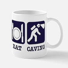Sleep Eat Caving Mug