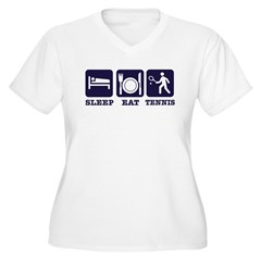 Sleep Eat Tennis T-Shirt