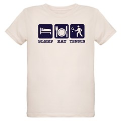 Sleep Eat Tennis T-Shirt