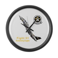 VF-51 Screaming Eagles Large Wall Clock