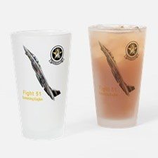 VF-51 Screaming Eagles Drinking Glass