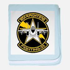 VF-51 Screaming Eagles baby blanket