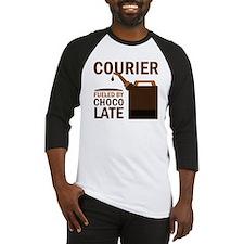 Courier Chocoholic Gift Baseball Jersey