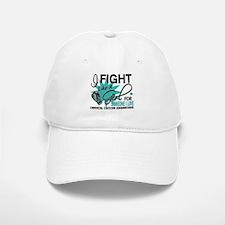 Fight Like A Girl For My Cervical Cancer Baseball Baseball Cap