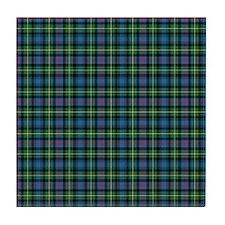 Tartan - MacLeod of Skye Tile Coaster