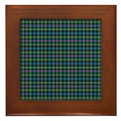 Tartan - MacLeod of Skye Framed Tile