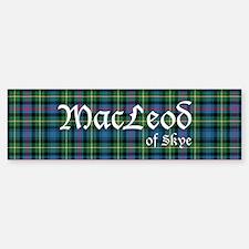 Tartan - MacLeod of Skye Bumper Bumper Sticker