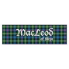 Tartan - MacLeod of Skye Bumper Sticker
