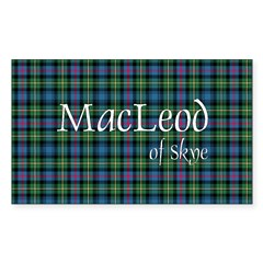 Tartan - MacLeod of Skye Decal
