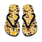 Traditional Leopard Flip Flops