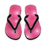 Candy Burst Pink Flip Flops