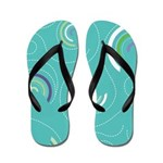 Half Swircles Flip Flops