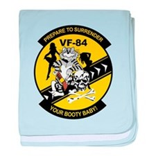 VF-84 Jolly Rogers baby blanket