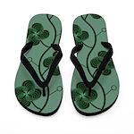 Spirolap Green Flip Flops