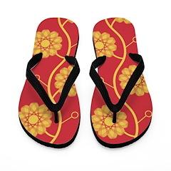 Spirolap Red Flip Flops
