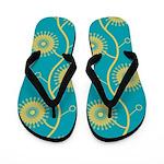 Spirolap Turquoise Flip Flops