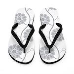 Spirolap Gray Flip Flops
