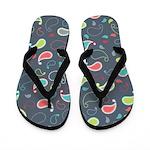 Chic Paisley Flip Flops