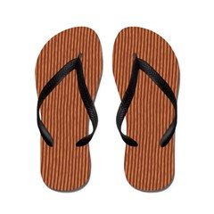 Cedar Wood Flip Flops