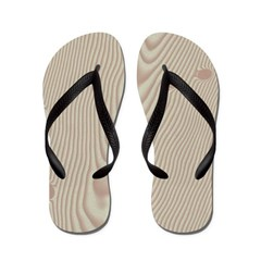 Holly Wood Flip Flops