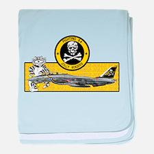 VF-84 Jolly Rogers baby blanket