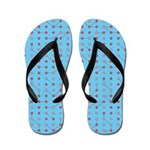 Red Blue Circuitry Flip Flops