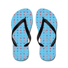 Red Blue Circuitry Flip Flops