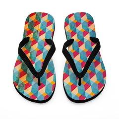 Optical Steps Bold Flip Flops