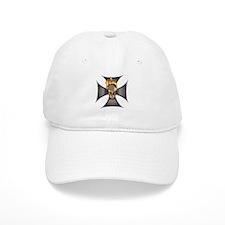 Flaming Skull Baseball Cap