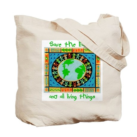 Save the Earth Tapestry - Tote Bag 10#+ GROCERIES