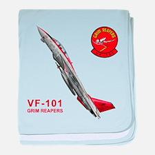 VF-101 Grim Reapers baby blanket