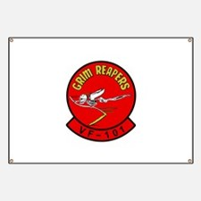 VF-101 Grim Reapers Banner