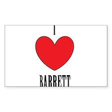 Barrett Decal