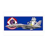 VF-102 DIAMONDBACKS 38.5 x 24.5 Wall Peel