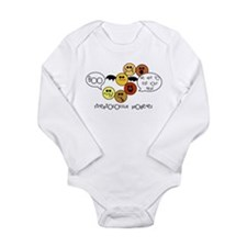 Flesh Eating Long Sleeve Infant Bodysuit
