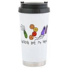 Bacteria are My Friends Travel Mug