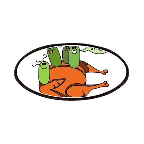 Salmonella Party Patches
