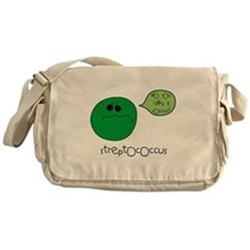Streptococcus Messenger Bag