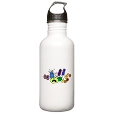 I Love Bacteria Too! Water Bottle