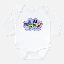 I Love Bacteria Long Sleeve Infant Bodysuit