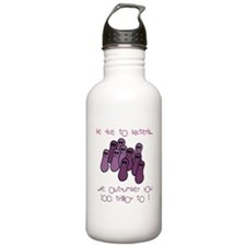 Be Nice to Bacteria Water Bottle