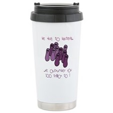 Be Nice to Bacteria Travel Mug