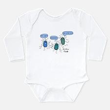 Proteus mirabilis Long Sleeve Infant Bodysuit