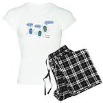 Proteus mirabilis Women's Light Pajamas