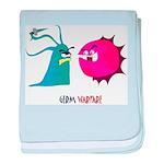 Germ Warfare baby blanket